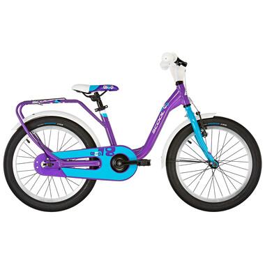 """Vélo Enfant S'COOL NIXE Alu 1V 18"""" Violet/Bleu 2019"""